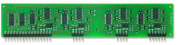 Electronic Fuse 8 Channels with programmable turn off current on PCB-Module - TUCHSCHERER ELEKTRONIK GMBH