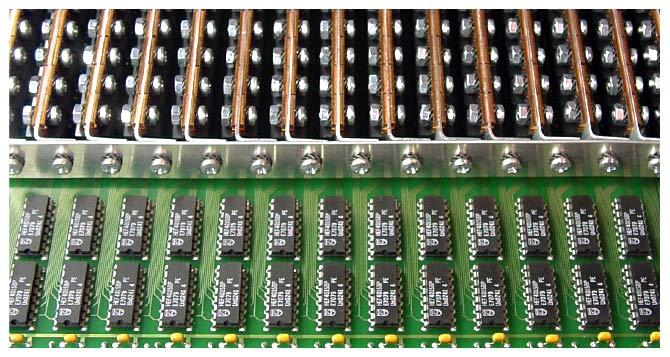 Assembly of 240 Power-Mosfets for an 240-Channel-Interface-Tester - TUCHSCHERER ELEKTRONIK GMBH