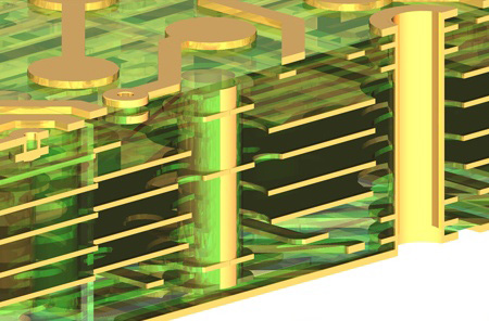 We can supply a wide range of PCB´s from single layer up to Multilayers of 30.