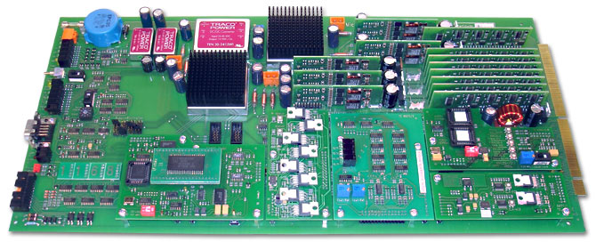 Universal HTOL-Drivercard with expandability by modules